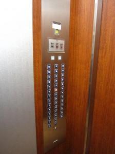 ベイクレストタワー エレベータ内
