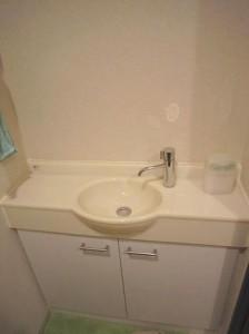 ベイクレストタワー トイレの独立手洗台