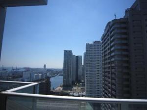 ベイクレストタワー リビングからの眺望
