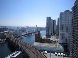 ベイクレストタワー 7.3帖洋室からの眺望