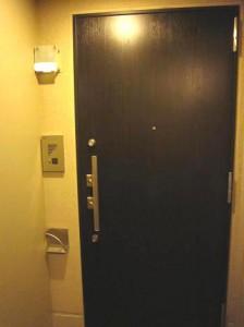 ベイクレストタワー 22F 玄関扉