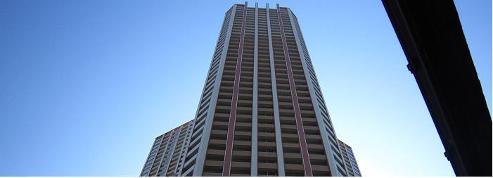 芝浦アイランドケープタワー 上層階切抜き
