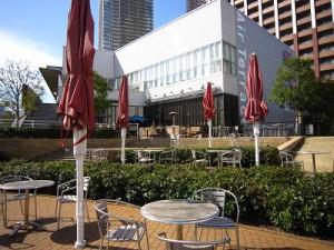 芝浦アイランドケープタワー エアテラス オープンカフェ