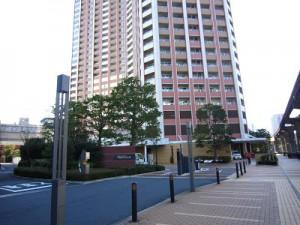 芝浦アイランドケープタワー 周辺遊歩道1