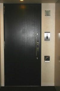 ベイクレストタワー 玄関